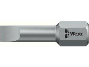"""Bit plochý Wera Torsion  1/4"""" DIN 3126 C 6,3 - 5,5x0,8x25mm (05056220001)"""