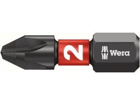 "Bit křižový PH Wera Impaktor 1/4"" DIN 3126 C 6,3 - PH3x25mm (05057617001)"