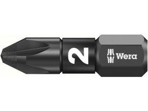 """Bit křižový PZ Wera Impaktor 1/4"""" DIN 3126 C 6,3 - PZ2x25mm (05057621001)"""