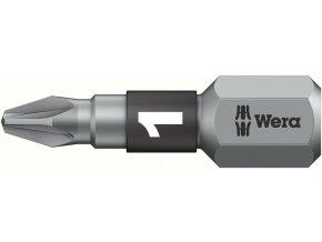 """Bit křižový PZ Wera BiTorsion trdý 1/4"""" DIN 3126 C 6,3 - PZ2x25mm (05056722001)"""