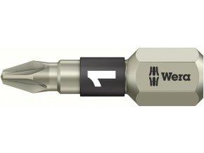 """Bit křižový PZ Wera INOX 1/4"""" DIN 3126 C 6,3 - PZ2x25mm (05071021001)"""