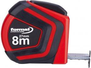 Kapesní svinovací metr Format Autolock 8m x 27mm