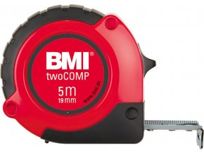 Kapesní svinovací metr BMI twoCOMP 5m x 19mm