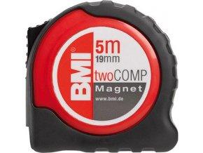 Kapesní svinovací metr BMI twoCOMP M 8m x 25mm
