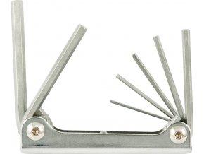 Sada šestihraných klíčů (inbus) Fortis 7 dílná  1,5-6mm