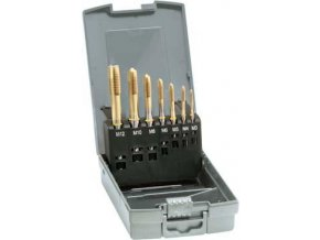 Sada strojních závitníků Gühring  DIN371 pro slepé otvory HSS-Co5   M3-M12 + vrtáky