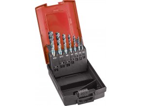 Sada strojních závitníků Format GT DIN371 na slepé otvory INOX 6H, HSS-Co5 černěné - M3-M12
