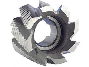Válcová čelní fréza Format DIN1880 HSS Co8, typ NF - 100x50mm