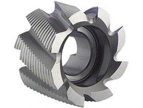 Válcová čelní fréza Format DIN1880 HSS Co8, typ HR - 80x45mm