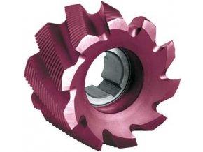 Válcová čelní fréza Format DIN1880 HSS Co8 TiAlN, typ HR - 63x40mm