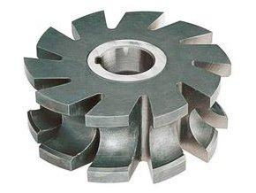 Fréza půlkruhová vydutá Format DIN855 HSS,  50x6mm,  R1,0