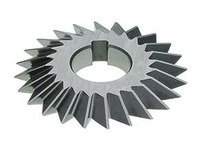 Fréza úhlová oboustranná Format DIN847 HSS, 60° - 100x25mm