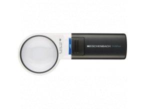 Lupa ESCHENBACH Mobilux s osvětlením Ø 35 mm - zvětšení 12,5x