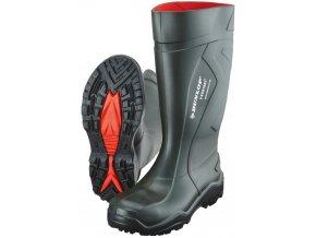 Dunlop Purofort+ Full Safety S5 zelené