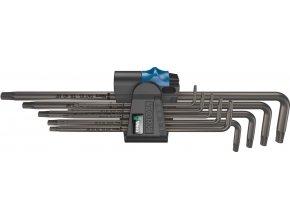 Sada zástrčných klíčů WERA Torx s přidržovací funkcí, dlouhé T8-T40