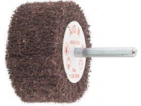 Plstěný lamelový brusný kotouč na stopce Format 50x30mm - hrubý