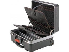 Kufr na nářadí na kolečkách Format 36l  z plastu ABS 485x370x200mm