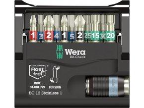Sada bitů Wera Bit-Check 10 Stainless 1 (05071110001)