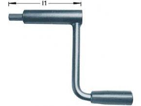 Ruční klika pro strojní  svěrák Röhm RKE Basic - 125/160/200 mm (134600)