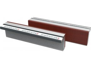 Ochranné magnetické hliníkové čelisti s fíbrovou vrstvou Scangrip - 175 mm (175F)