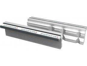 Ochranné magnetické hliníkové čelisti Scangrip se svislými prizmami - 160 mm (160P)