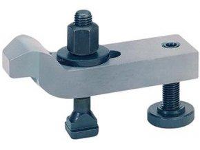 Zalomená upínka s přestavitelným opěrným šroubem Format - M10x10