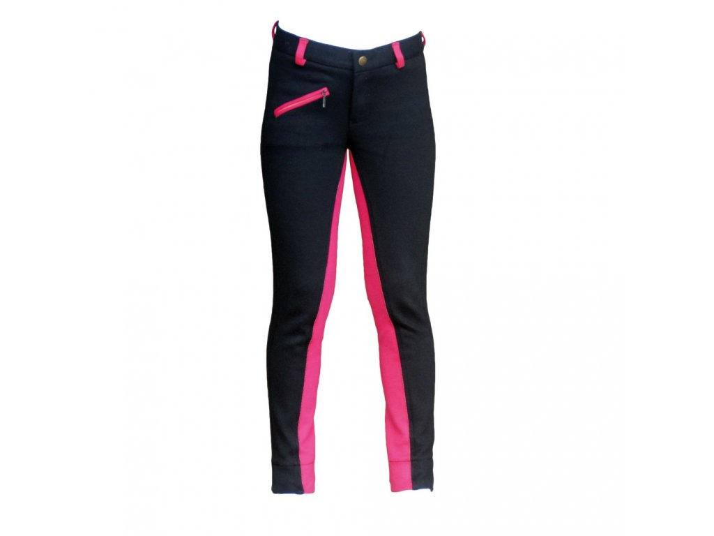 celtic cubs jodhpurs black and pink 001