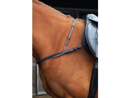 breeze up synthetic breastplate black 001