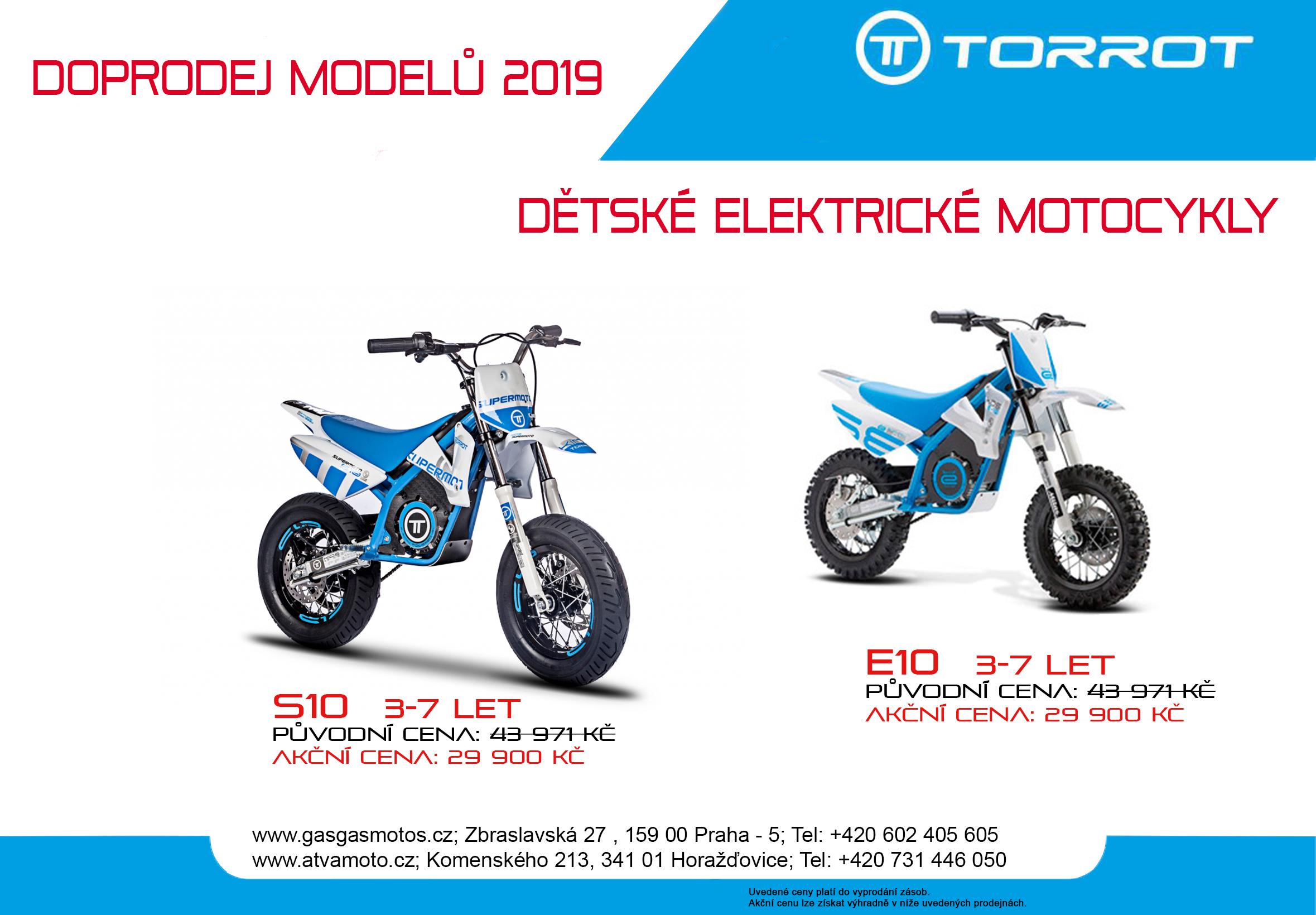 Doprodej modelů 2019