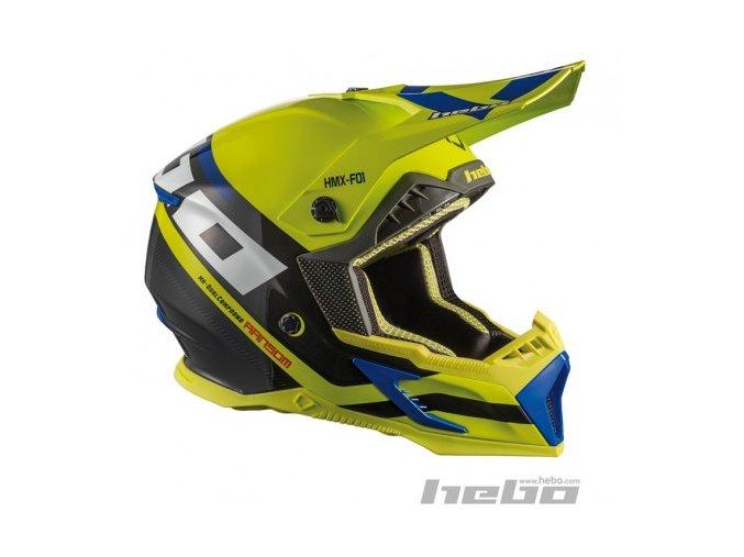 Enduro-MX helma RANSOM FIBRA