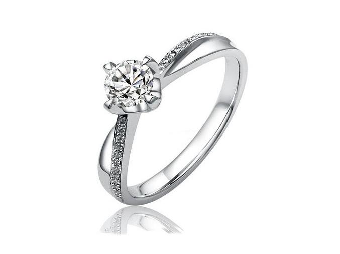 Stříbrný originální prsten Florence se Swarovski Zirconia