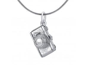 VESPER přívěsek Fotoaparát ze stříbra