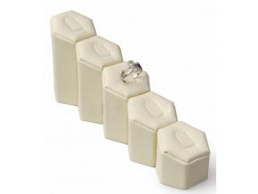 Koženkový set stojanů na prsteny AD-654/A20