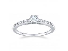 Stříbrný prsten ATHENAIS s Brilliance Zirconia