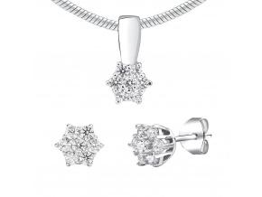 Stříbrný set šperků se Swarovski® Zirconia