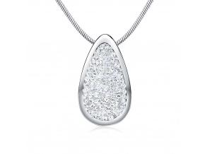 Stříbrný přívěsek 24 mm se Swarovski® Crystals