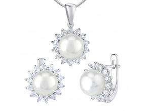 souprava perla bílá