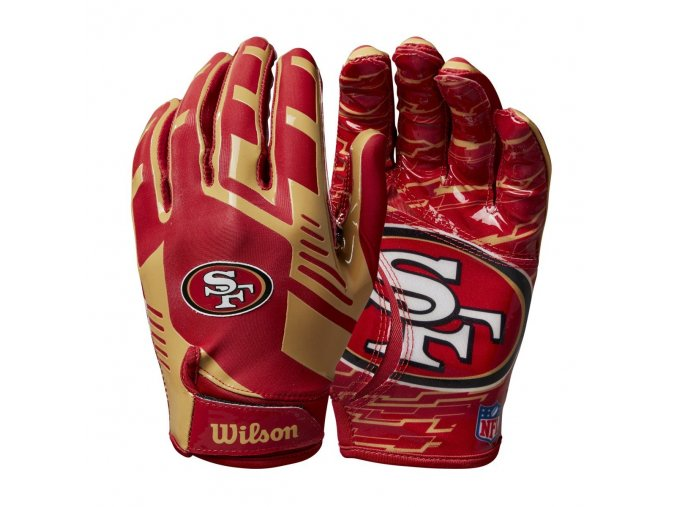 2645593f5d23fb1c4182a055cfe3f9c32c61fda5 WTF9326SF 2 NFL 2020 TEAM Sretch Fit GLOVES AD SF RD GD Double