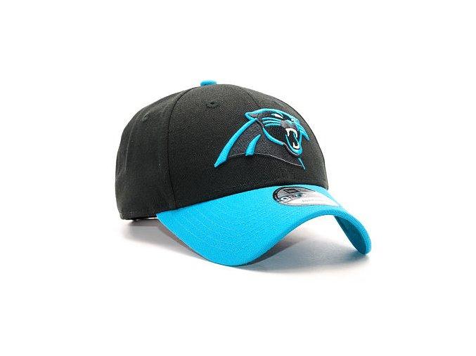 Kšiltovka New Era The League Carolina Panthers 9FORTY Team Color Strapback