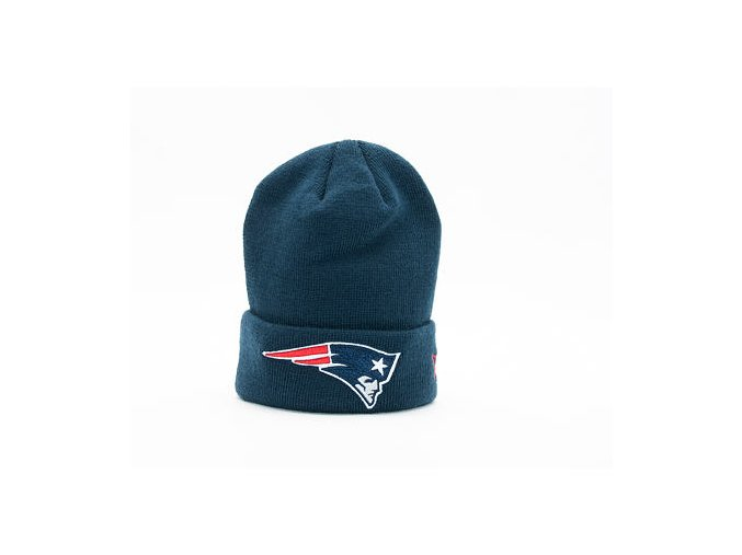 Dětský Kulich New Era Team Essential Cuff New England Patriots Youth Official Team Color
