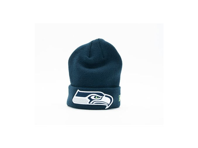 Dětský Kulich New Era Team Essential Cuff Seattle Seahawks Youth Official Team Color