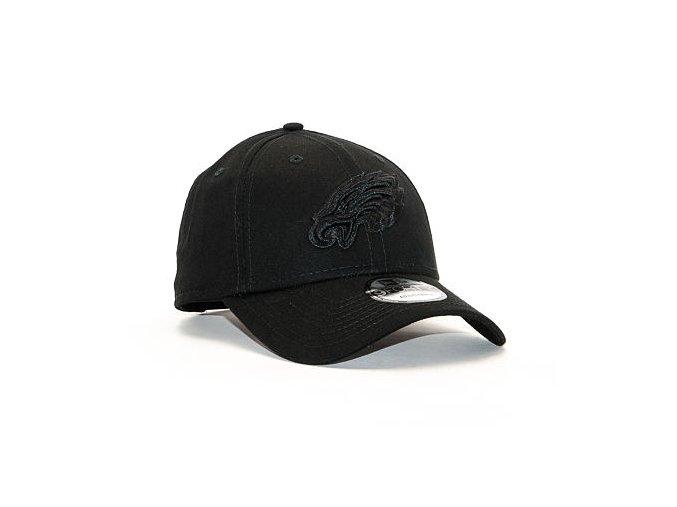 Kšiltovka New Era 9FORTY Snapback Philadelphia Eagles Black / Black Snapback