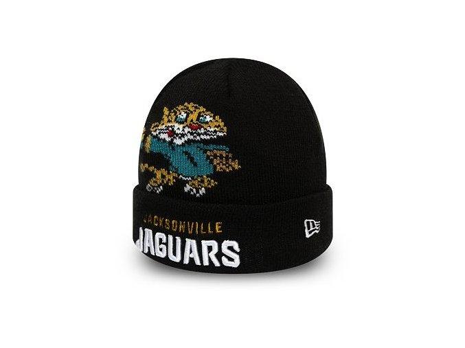 Dětský Kulich New Era Jacksonville Jaguars Infant Mascot Cuff Knit Black