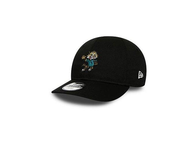 Dětská Kšiltovka New Era 9FORTY Jacksonville Jaguars Infant Mascot Black