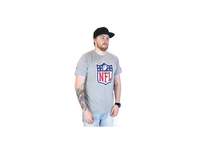 Triko New Era NFL Team Logo Heather Grey