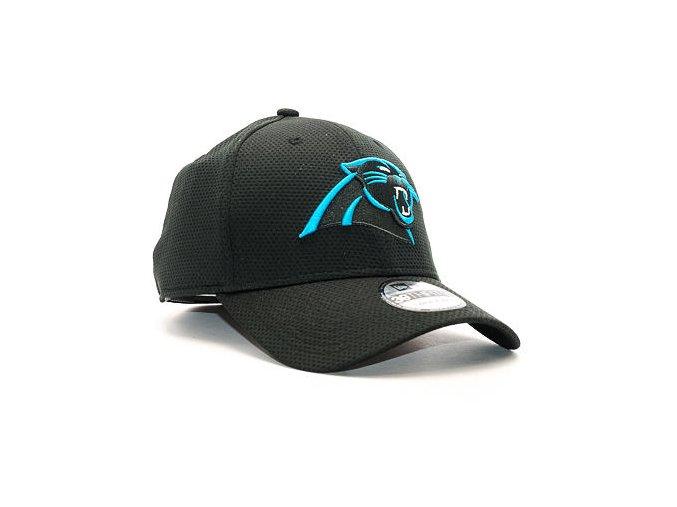 Kšiltovka New Era Sideline Tech Carolina Panthers 39THIRTY Black Stretchfit