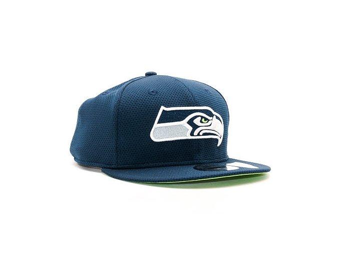 Kšiltovka New Era Training Mesh Seattle Seahawks 9FIFTY Navy Snapback