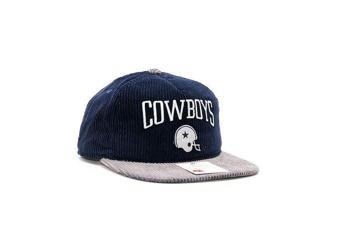 Kšiltovka New Era Heritage Cord Snap Dallas Cowboys 9FIFTY Navy/Grey Snapback