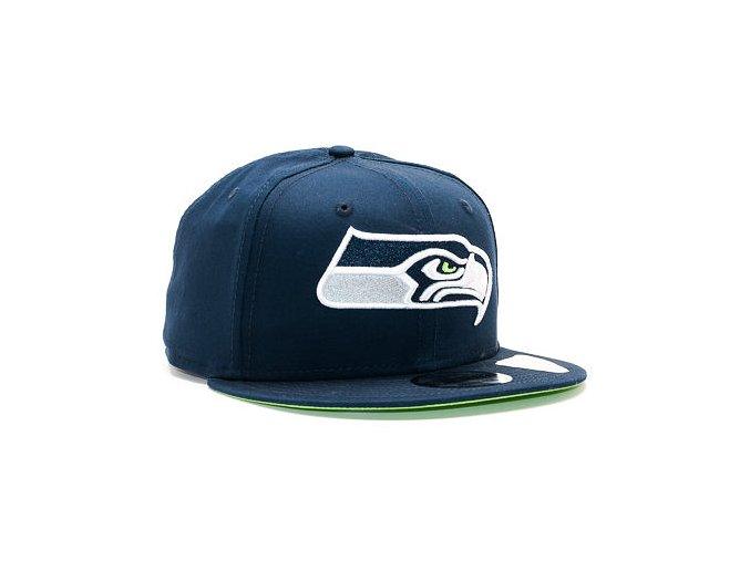 Kšiltovka New Era Team Classic Seattle Seahawks 9FIFTY Official Team Color Snapback