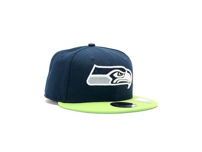 Kšiltovka New Era Team Seattle Seahawks 9FIFTY Official Team Color Snapback